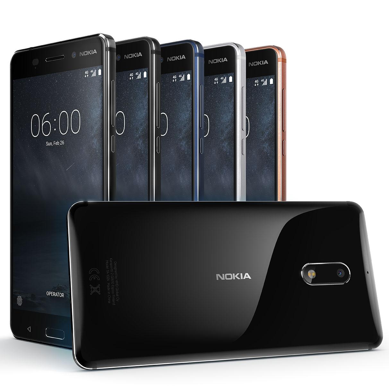 Nokia 6 range