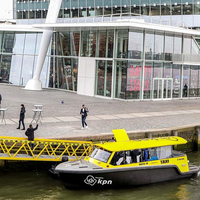 Watertaxi (c) KPN