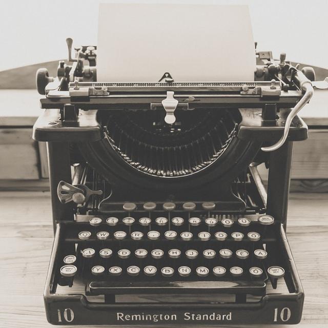 Typemachine (Pixabay)