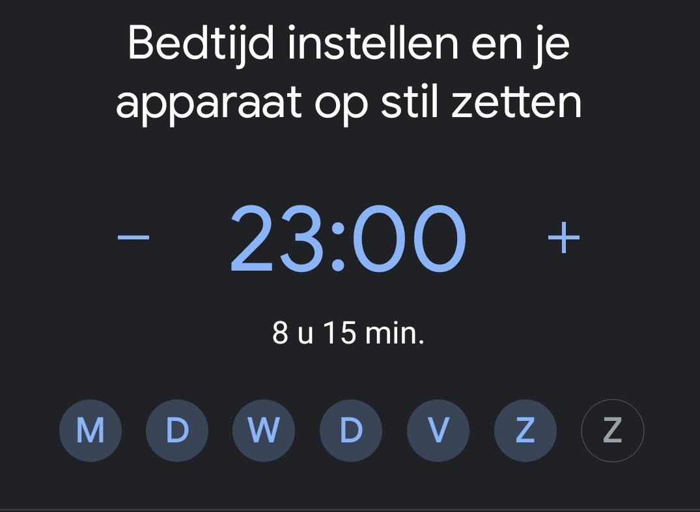 6 bedtijd