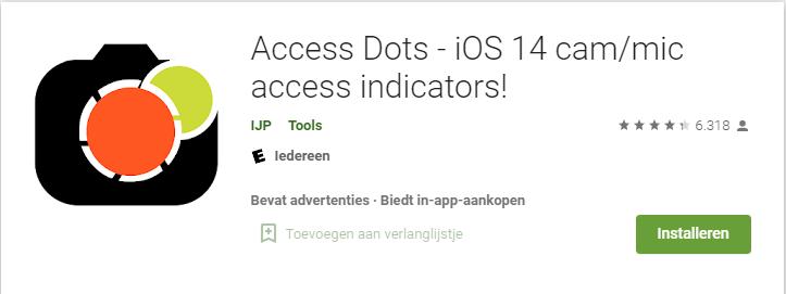 Access Dots Google Play