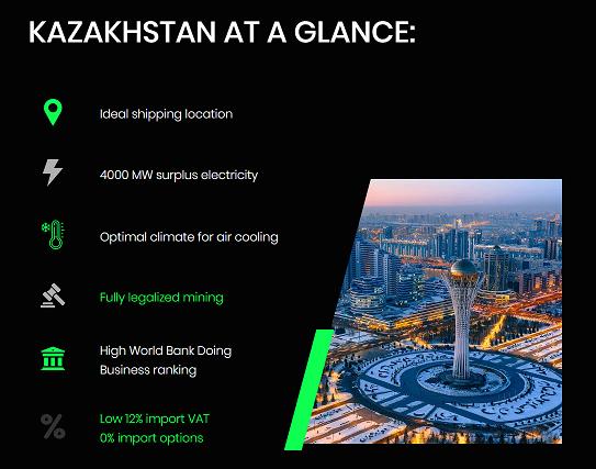 Advertentie voor kazakhstan