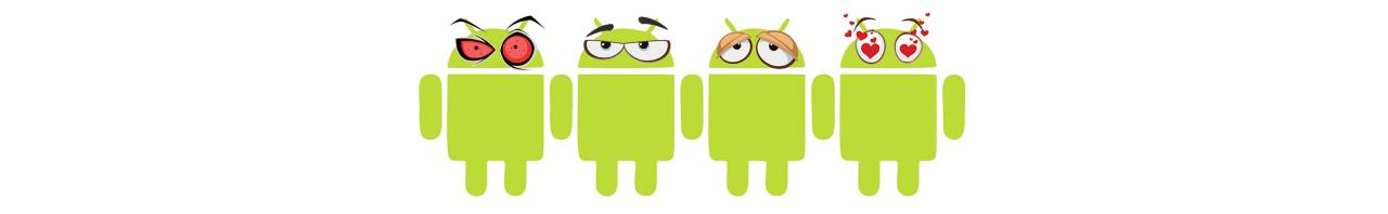Android mannetjes header