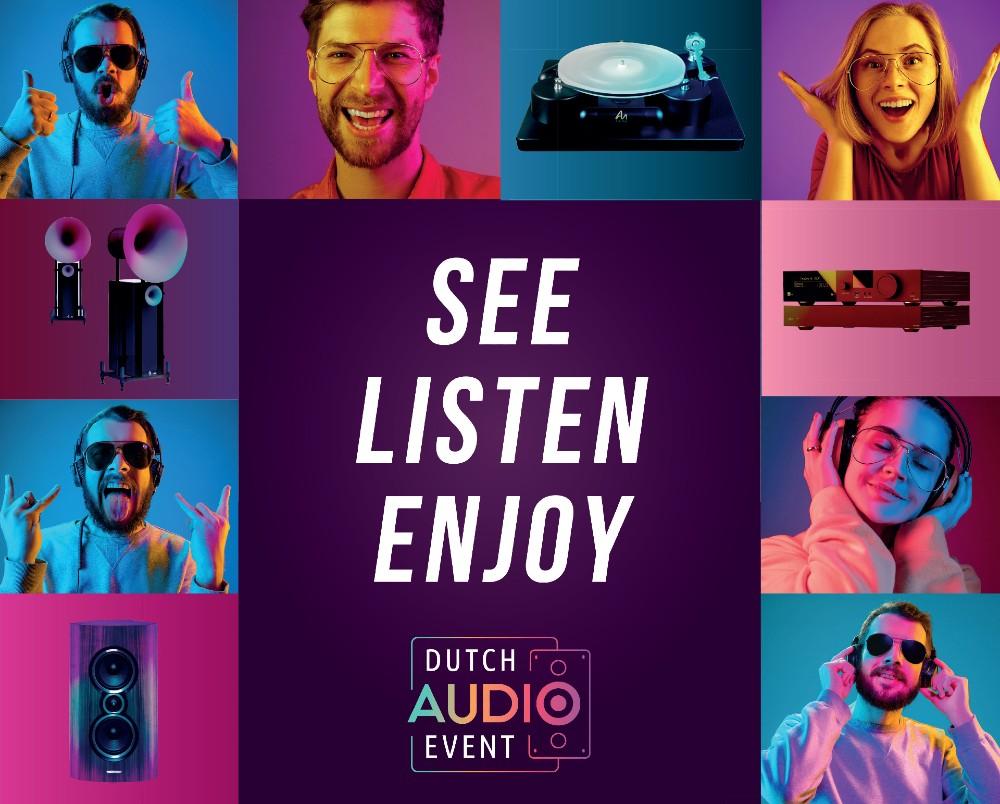 Dutch Audio Event 2021 teaser site