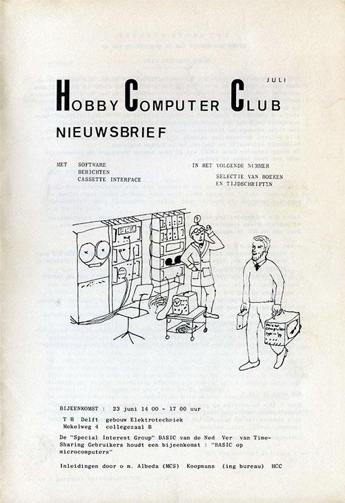 HCC Nieuwsbrief 1