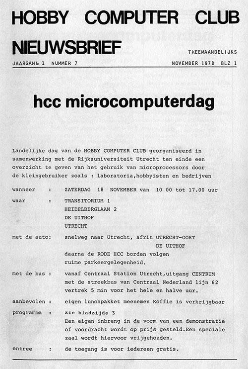 HCC nieuwsbrief 7
