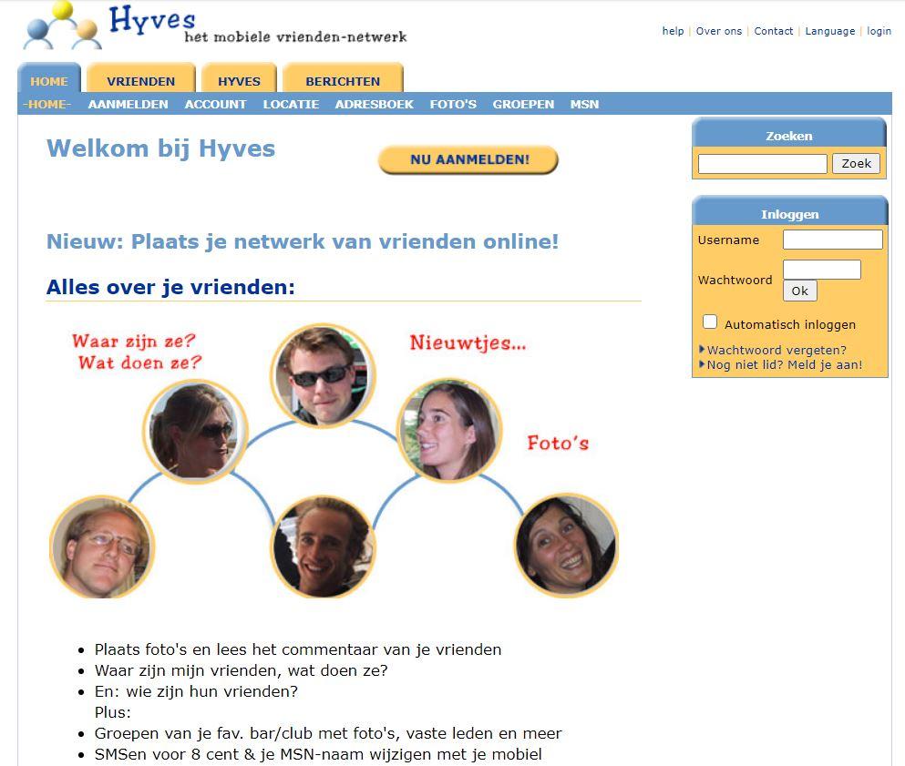 Hyves 23 sep 2004