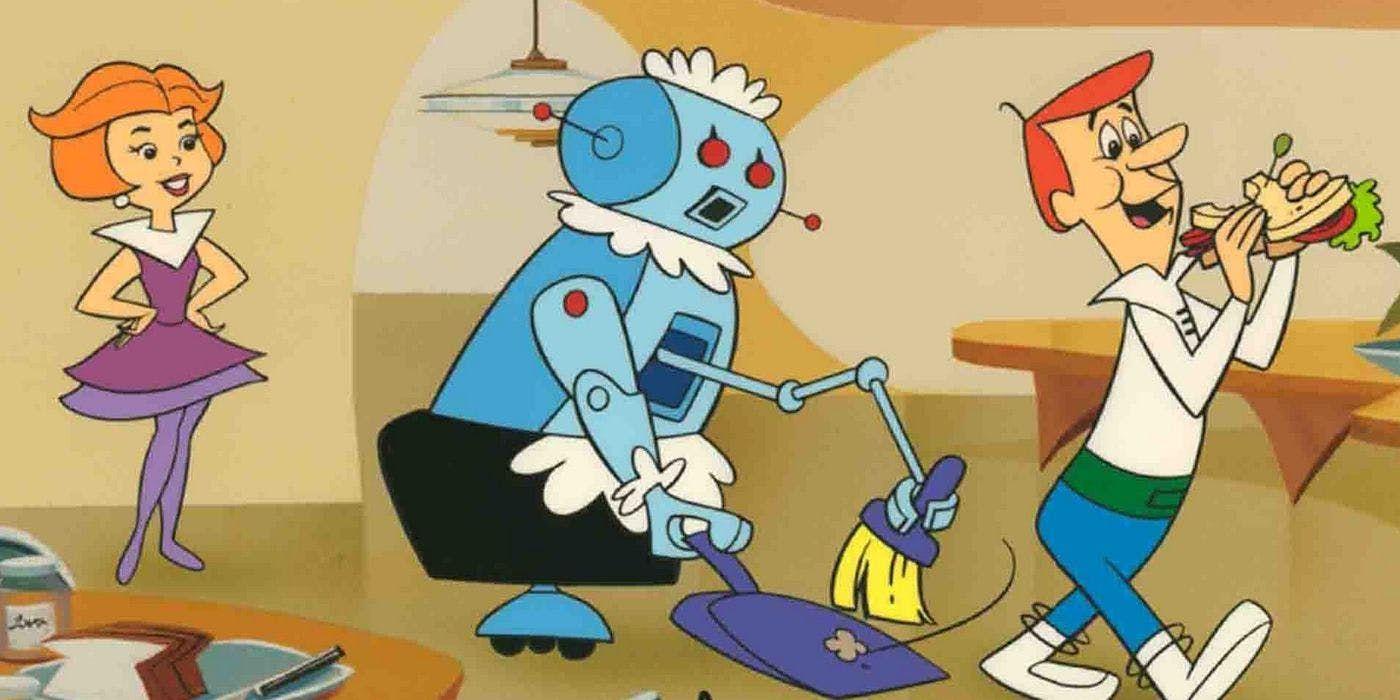 Jane Jetson Rosie the Robot George Jetson 1