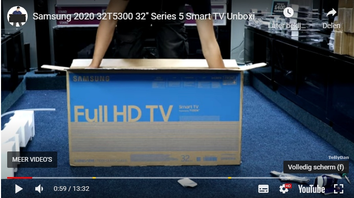 Knipsel samsung unboxing