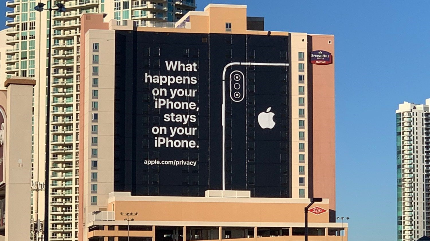 Slogan what happens on your iPhone