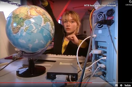 Teleac video inbellen 1996 kl