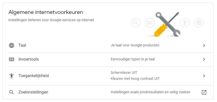 VVDW 2 internet instellingen