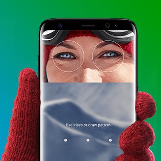 Samsung Galaxy S9 irisscanner sq