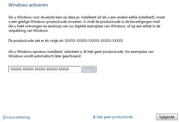 windowsactiveren