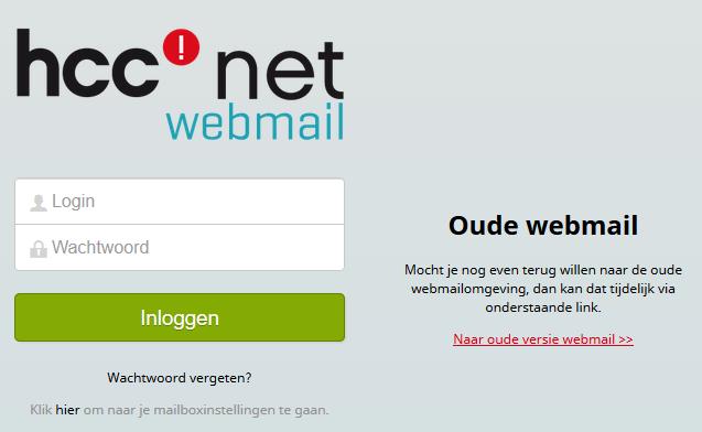 hccnetwebmail printscreen