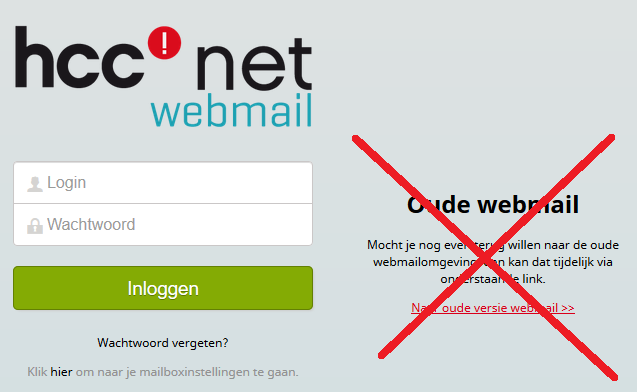 hccnetwebmail printscreen 2