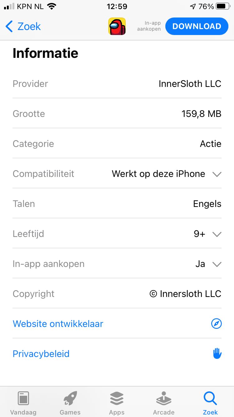iOS among us 2