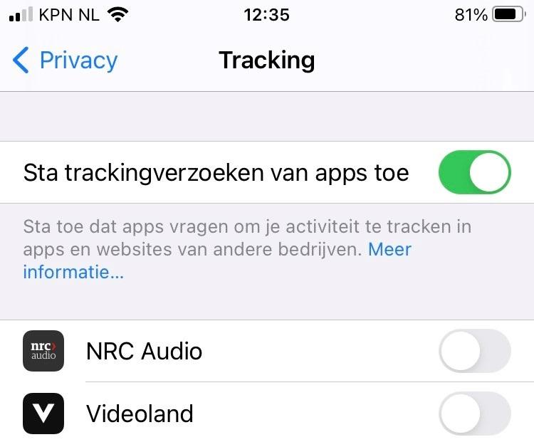 ios 14.5 app tracking