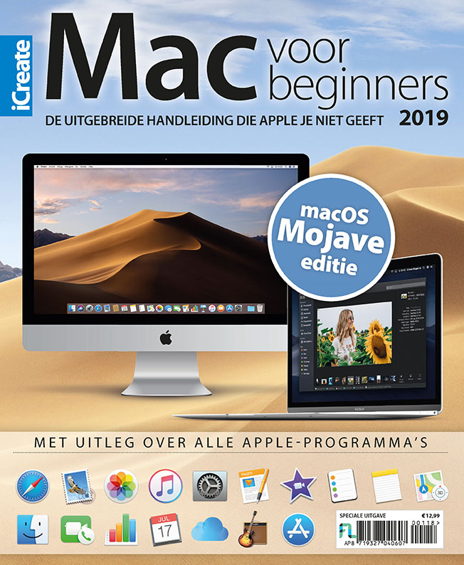 Mac voor beginners 2019 cover