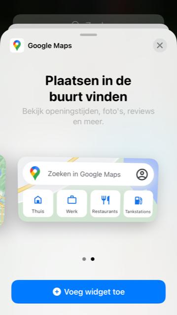 maps widget 2