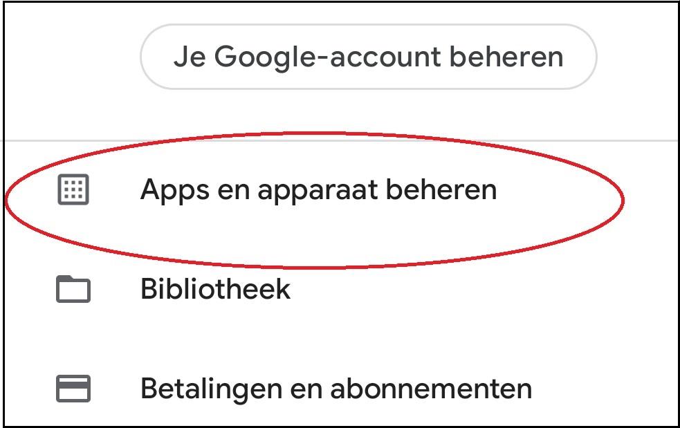 vvdw android apps updaten 2